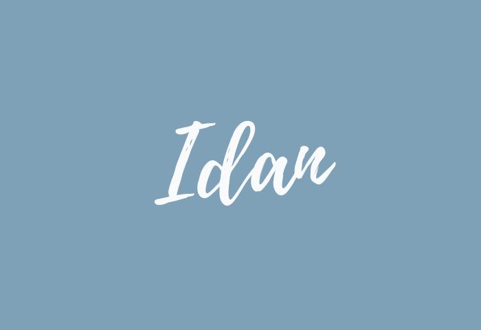 Idan Name Meaning