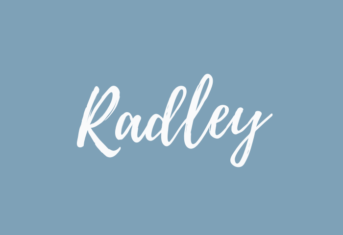 radley name meaning