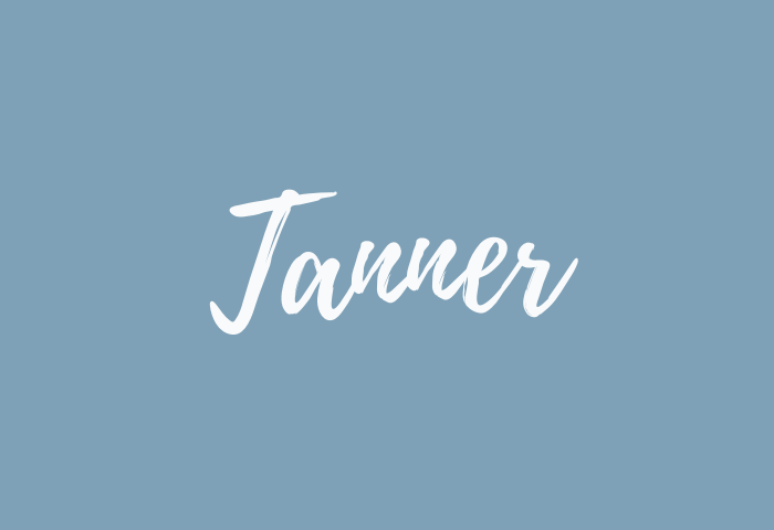 tanner name meaning