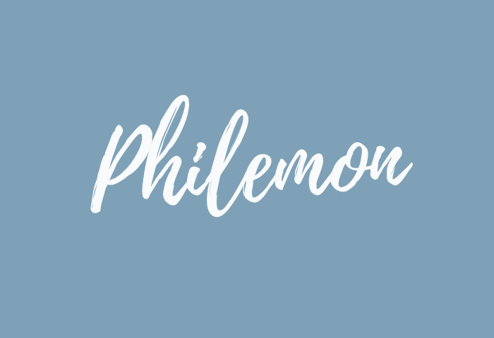 philemon name meaning