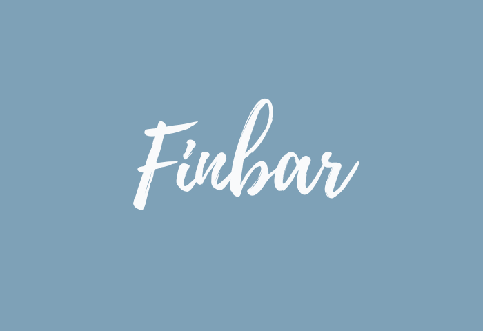 finbar name meaning