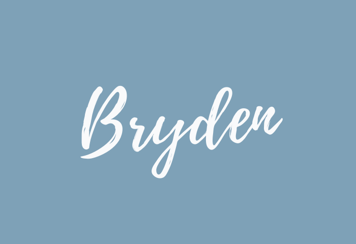 bryden name meaning