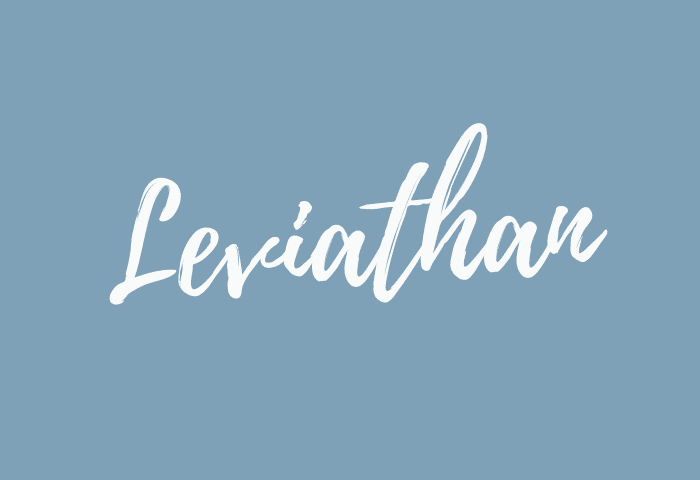 Leviathan name meaning