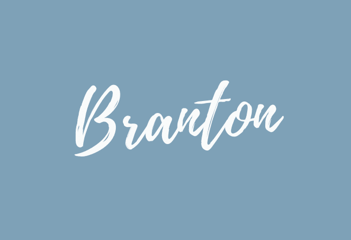 Branton name meaning