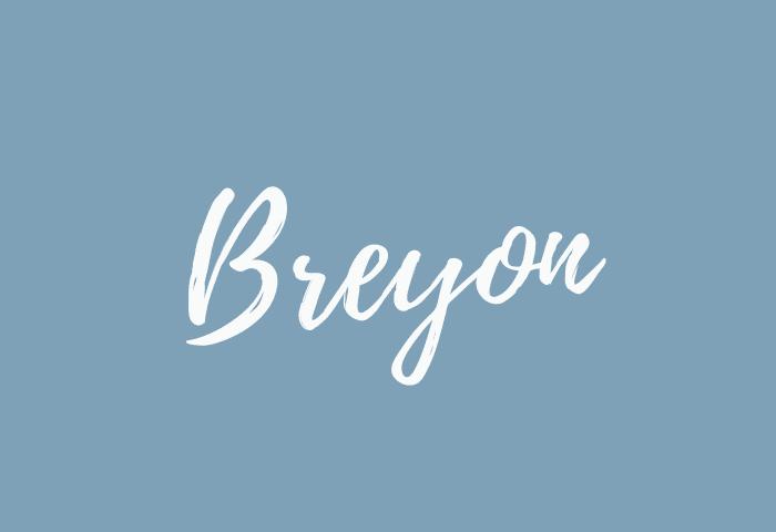 Breyon name meaning