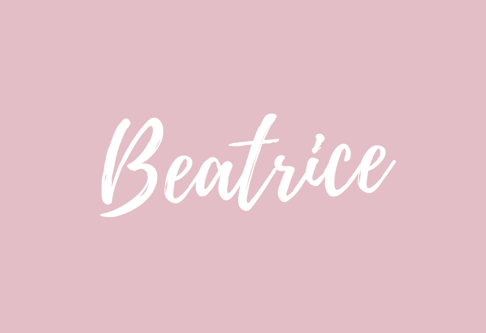 Beatrice Name Meaning