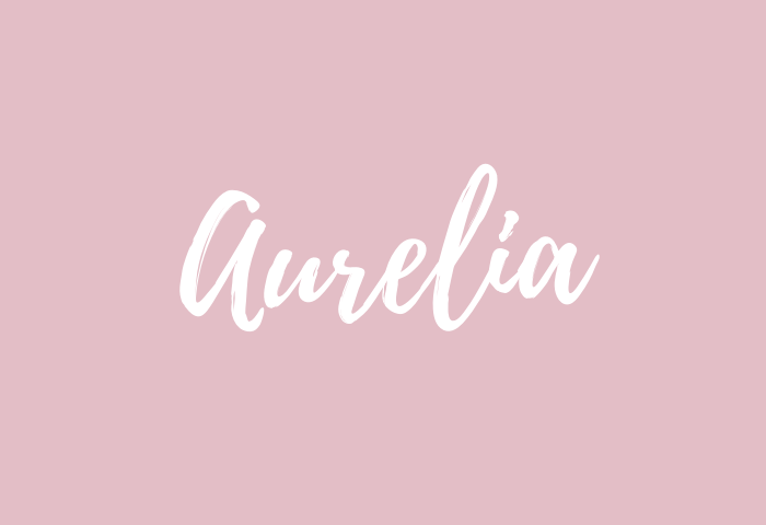 aurelia Name Meaning