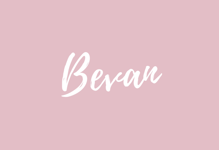 Bevan Name Meaning
