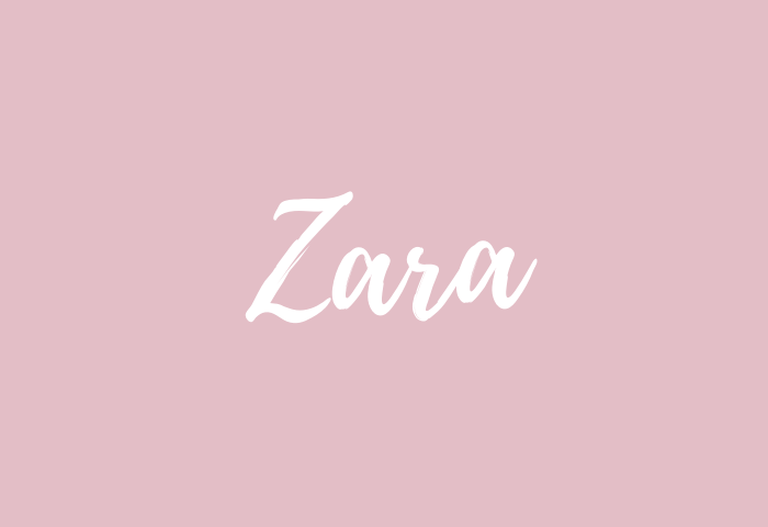 zara name meaning