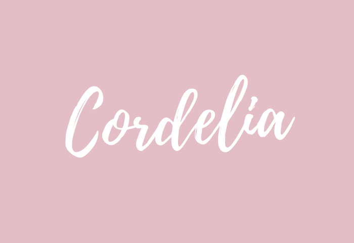 Cordelia Name Meaning