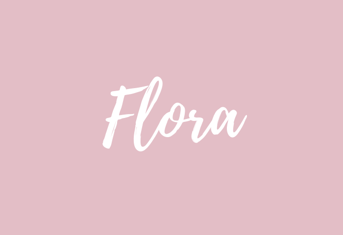 flora name meaning