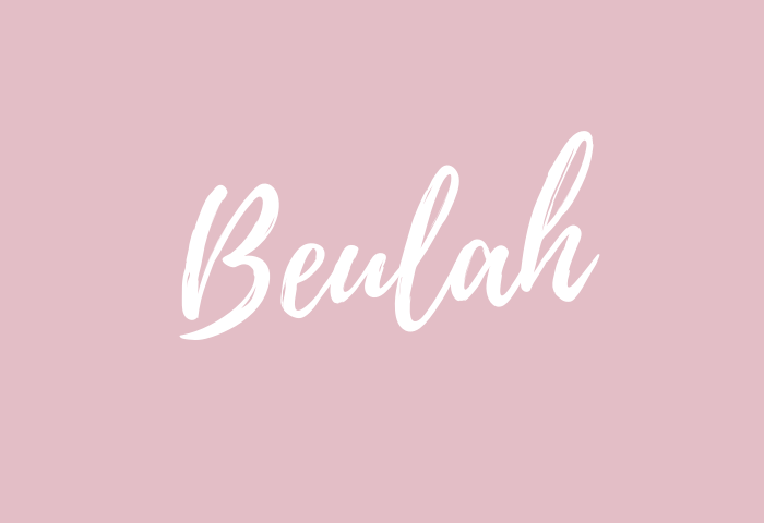 beulah name meaning