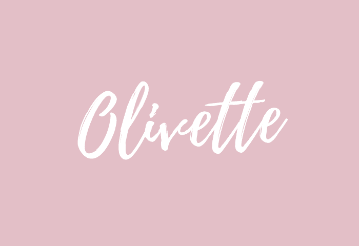 olivette name meaning