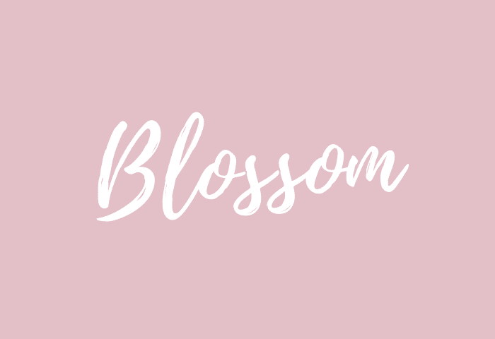 blossom name meaning