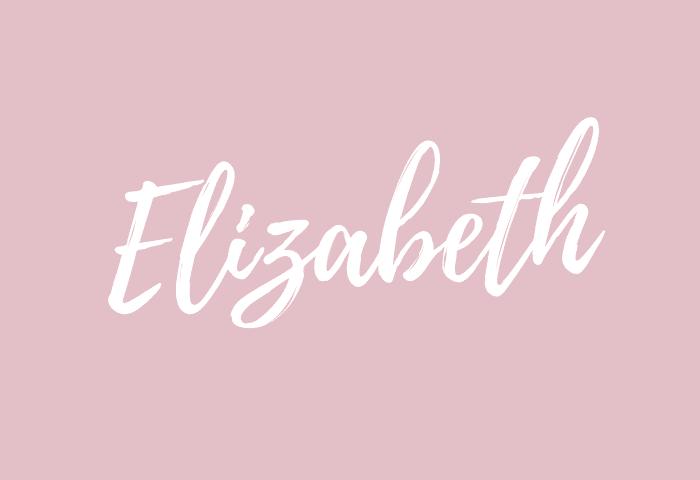 Elizabeth Name Meaning