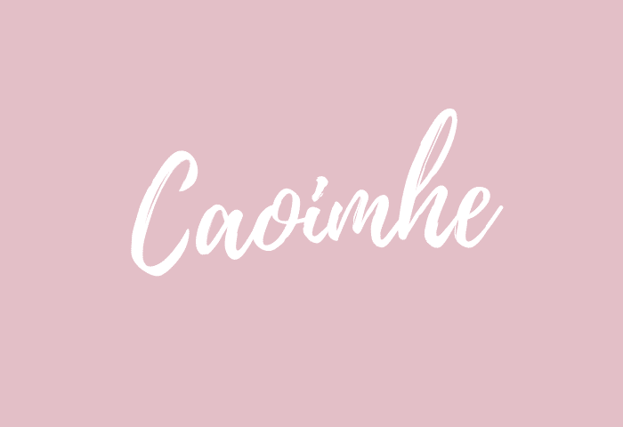 caoimhe name meaning