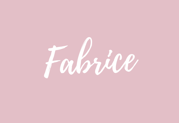 Fabrice name meaning