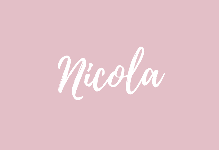 Nicola name meaning