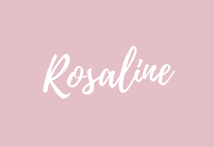 Rosaline name meaning