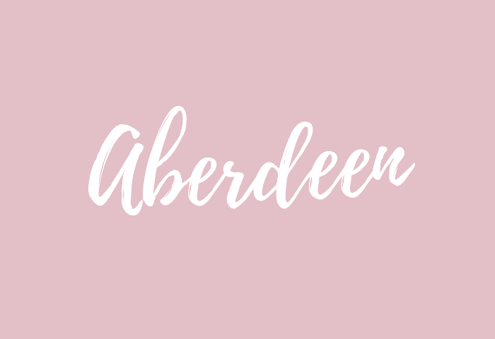 aberdeen name meaning