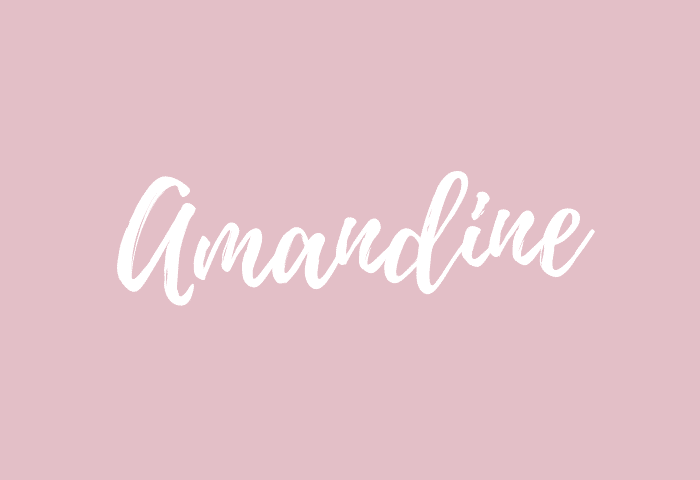 Amandine Name Meaning