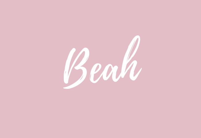 beah name meaning