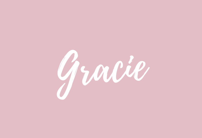 gracie name meaning