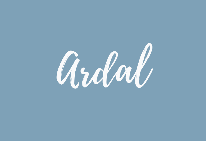 ardal name meaning