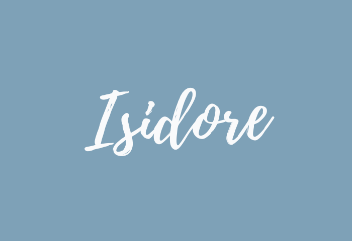 isidore name meaning