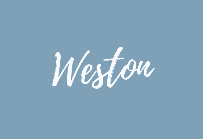 weston name meaning