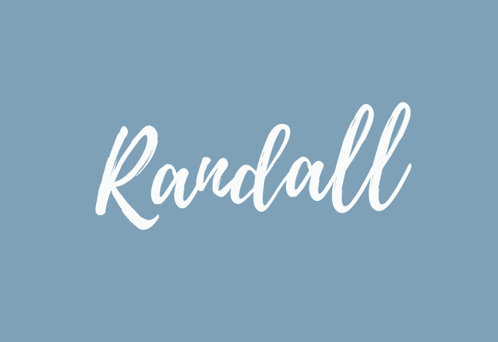 Randall name meaning