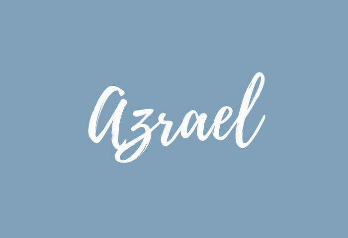 Azrael name meaning