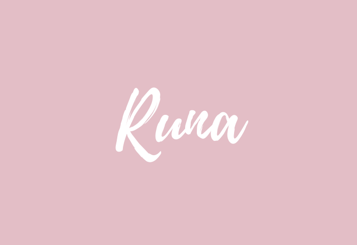 runa name meaning