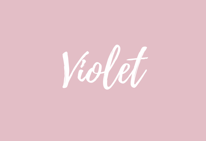 violet name meaning