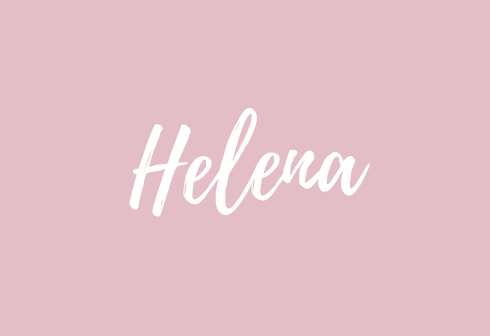 Helena name meaning