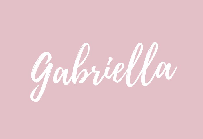 Gabriella Name Meaning