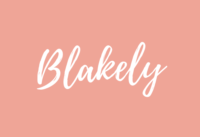blakely name meaning