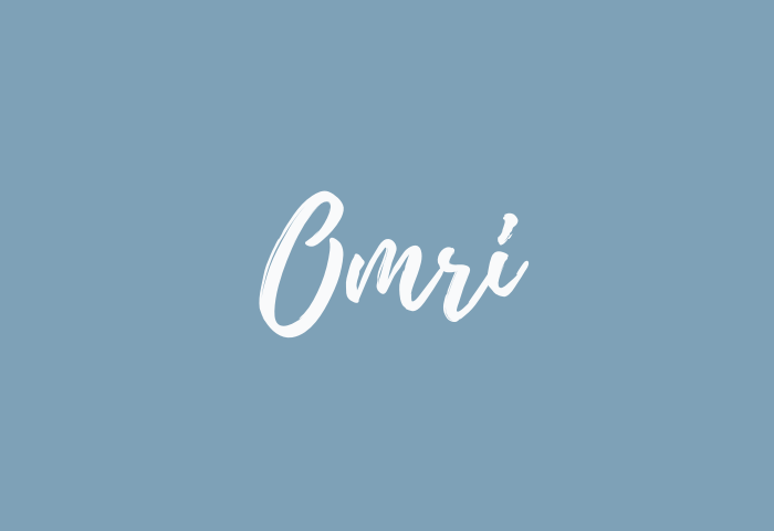 omri name meaning