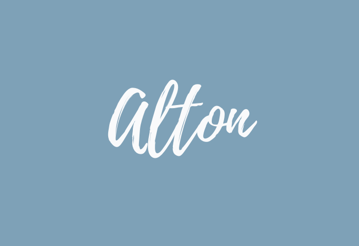 alton name meaning