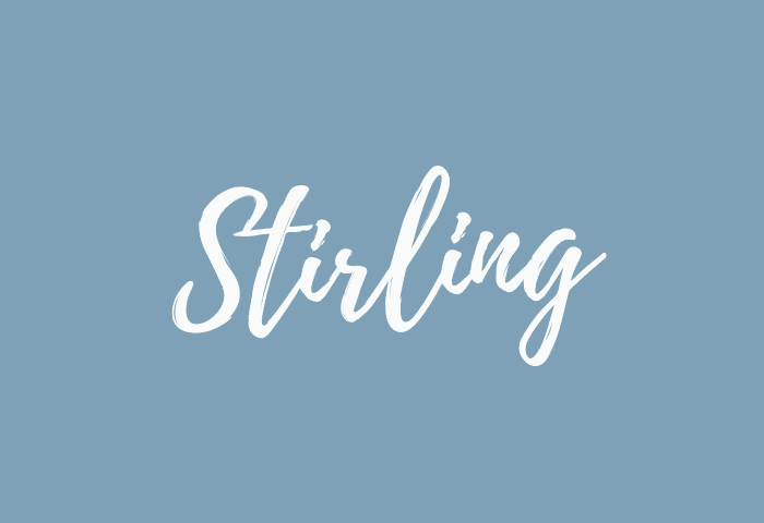 stirling name meaning