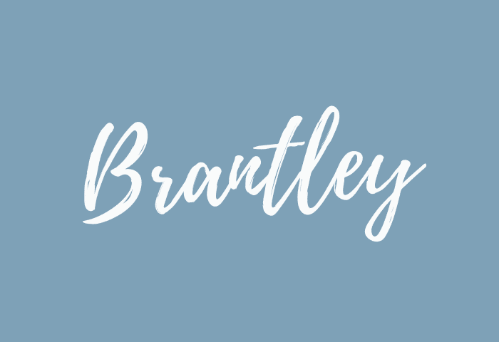brantley name meaning