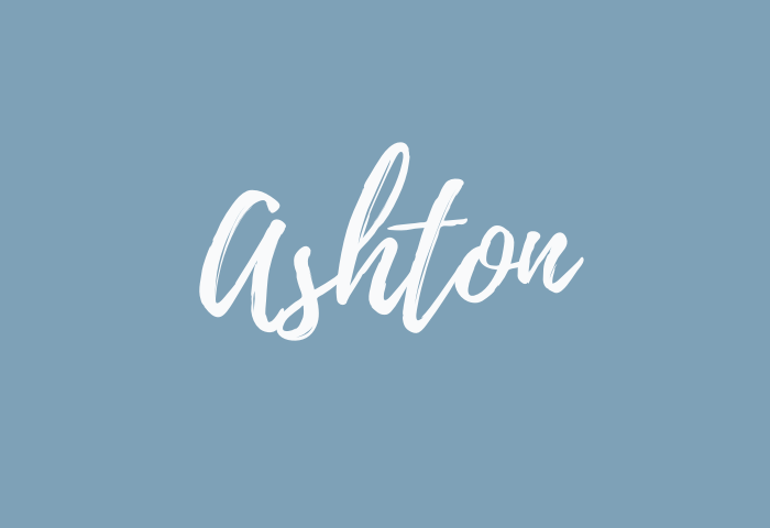 ashton name meaning