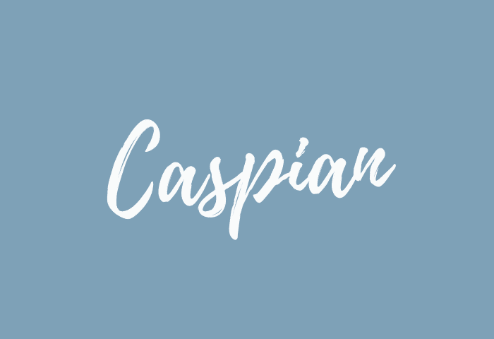 caspian name meaning