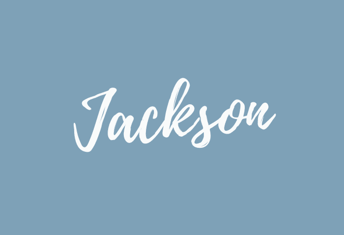Jackson Name Meaning