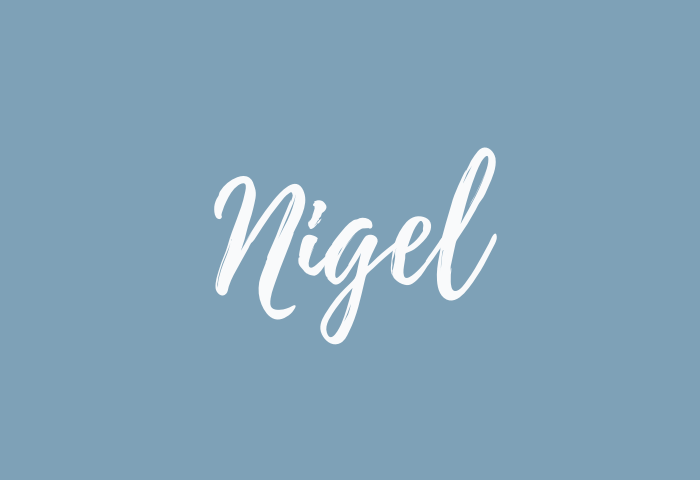 nigel name meaning