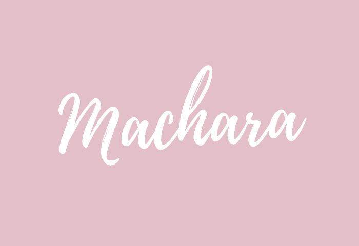 machara name meaning