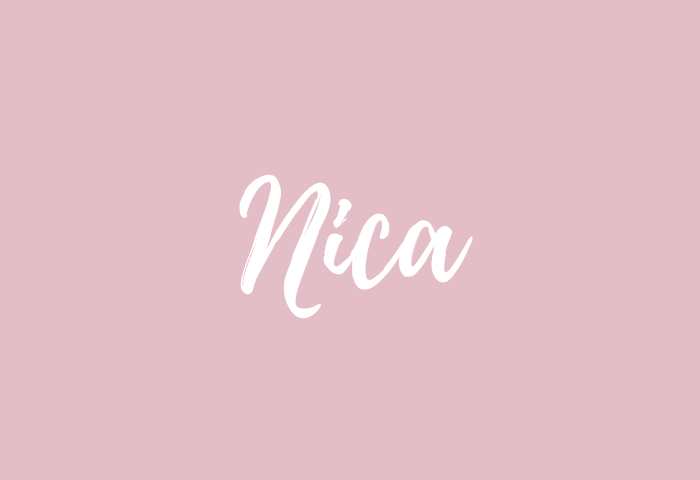 nica name meaning