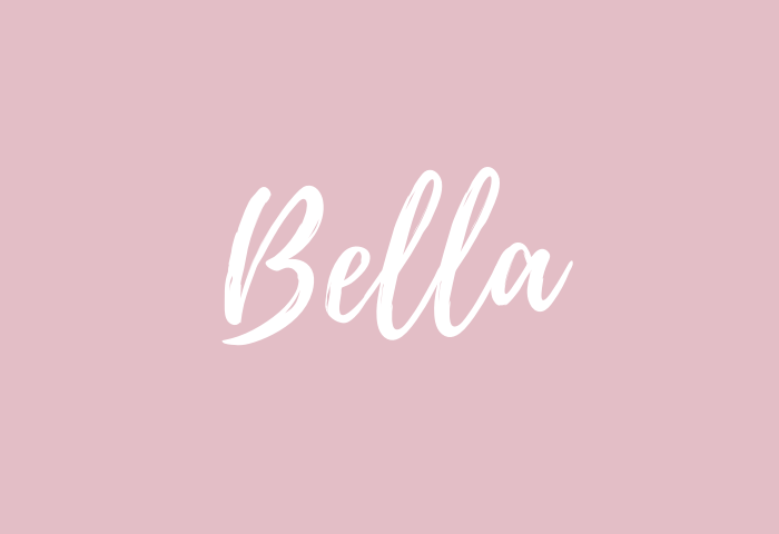 bella Name Meaning