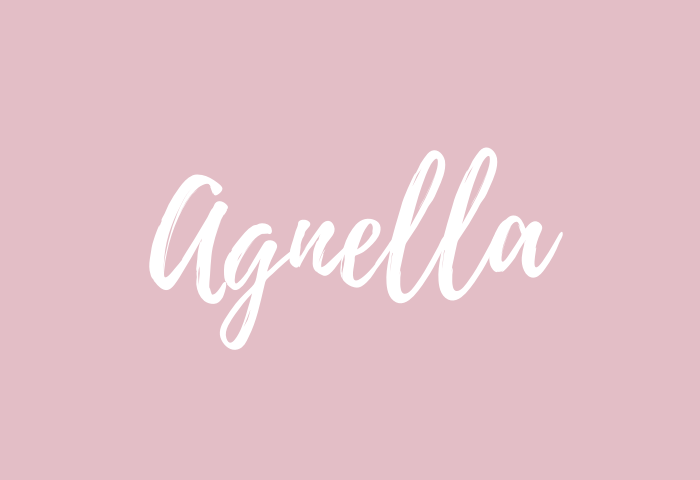 agnella name meaning