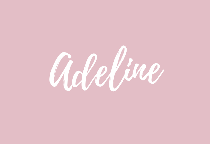 adeline name meaning